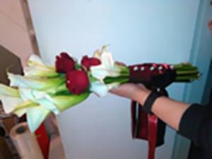 Bouquet a gambo lungo o a fascio